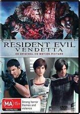 Resident Evil - Vendetta (DVD, 2017) NEW