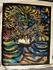 FANTASYFLOWERS A  by  FREEMAN ACRYLIC  ON  UNSTRETCHED CANVAS  24  X 30