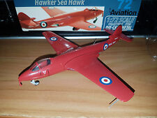 Hawker Sea Hawk Red Devils Team 1957 - Scala 1:72 Die Cast - 72 Aviation - Nuovo