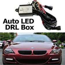 Car LED Daytime Running Light Fog Lamp DRL Relay Harness On Off Control Dimmer