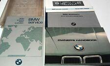 1981 BMW 5 SERIES Owners Manual SET - 518 etc