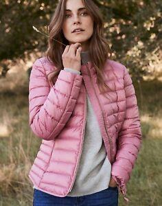 JOULES Canterbury Short Jacket Coat Pink Sz 24 RRP£59.95 FreeUKP&P