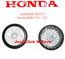 GENUINE HONDA Harmony HRT216 HRT216K HRT2162 Lawn Mower Set of 2 FRONT WHEELS