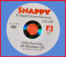 PC REPAIR PASSWORD RECOVERY  CLONE VIRUS MALWARE REMOVAL BOOT DVD