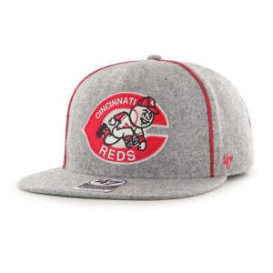 Cincinnati Reds MLB '47 Cooperstown Captain Snapback Hat Cap Lid Big Red Machine