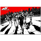 Persona 5 Poster - Steel Box Art - PS4 Exclusive - High Quality Prints