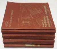 Vintage 1974 Ford Car Shop Manual Original Set of 5 Volumes FULL SET