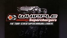 """WHIPPLE 11-12 FORD MUSTANG GT (2.9L) SC """"UPGRADE"""" KIT/ WK-200788B"""