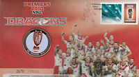 2010 Australia Dragons NRL Rugby Premiers PNC with limited edition medallion