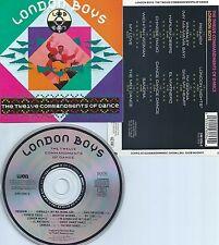 LONDON BOYS-THE 12 COMMANDMENTS OF DANCE-88-GERMANY-CD-MINT-