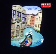 Venice ITALY Venezia Queen Adriatic 3D MAGNET SOUVENIR FRIDGE RESIN TOURIST GIFT