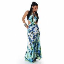 Polyester Maxi Dresses Cut Out for Women