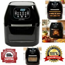 Air Fryer Oven Dehydrator 8 Digital Function All-In-One 6 Quart Pro Rotisserie