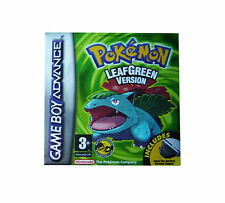 Pokemon: LeafGreen (Nintendo Game Boy Advance, 2004) - European Version