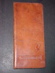 Ferrari 308 Leather Owners Manual Pouch Mondial 8 Cuoio designer Modena OEM