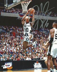 Dennis Rodman Signed Spurs 8x10 Photo PSA/DNA COA Picture Autograph Hall of Fame