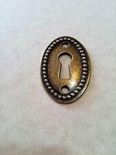Keyhole Connectors Pendants Antiqued Bronze Key Holes Steampunk
