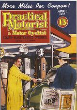ROBERT  OPIE  ADVERTISING  POSTCARD  -  PRACTICAL  MOTORIST  &  MOTOR  CYCLIST