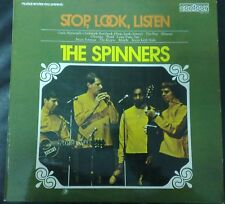 DISCO LP THE SPINNERS STOP LOOK LISTEN CONTOUR 69 MINT