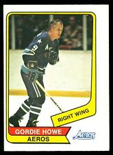 1976 77 OPC O PEE CHEE WHA #50 GORDIE HOWE EX-NM HOUSTON AEROS HOCKEY HOF CARD