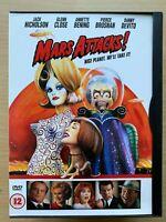 Mars Attacks DVD 1996 Comedy Sci-Fi Cult Film Classic in Snapper Case