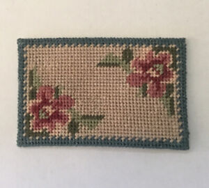 Dolls House Cross Stitch Door Mat