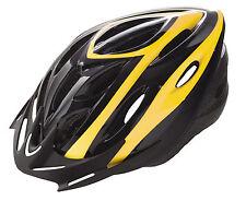 Casco de Ciclismo Deportivo Negro Amarillo de Bicicleta Carretera Road MTB 3488