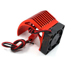Yeah Racing Aluminum 540 Motor Heat Sink Cooling Fan Red 1:10 RC Car #YA-0411RD