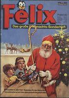 Felix Das große Weihnachts-Sonderheft von 1966 mit Würfelspiel - TOP Z1 BASTEI