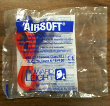 Howard Leight Airsoft Earplugs - Corded Air Fin Design NEW - FREE SHIPPING!