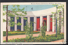 America Postcard - New York World's Fair 1939 - Insurance Building  A6096
