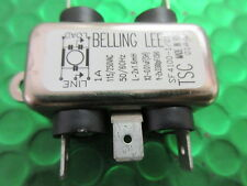 SF4100-1/01, 240V, 1A CHASSIS MOUNT MAINS FILTER