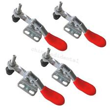 4pcs Easy Use Metal Horizontal Quick Release Hand Tool Hold-down Toggle Clamps A
