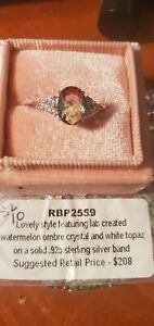 RBP2559 ring bomb party rings size 10, SRP $208