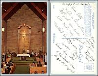 INDIANA Postcard - Evansville, St. Mary's Hospital, Chapel Of Mary, Queen M42