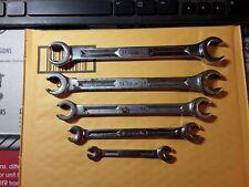 Vintage Snap On 5 Pc Sae Flare Nutline Wrench Set 14 1316 Rxh605s