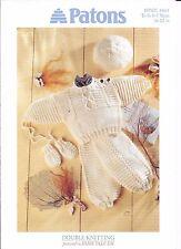 "Baby Sweater, Leggings & Mitts 16-22"" Patons DK knitting pattern 4865"