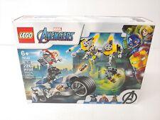 Lego Marvel Super Heroes Avengers Speeder Bike Attack (76142) - FREE SHIP
