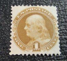 nystamps US Stamp # 123 Mint OG H $550