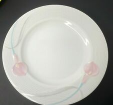 "Mikasa Serenade Pink LDB10 Chop Plate   Round Serving Platter 12"""
