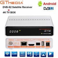 GTMedia GTS Android 6.0 Smart TV Box DVB-S2 Quad Core Media TV Caja 4K 2.4G WIFI