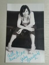Autograph - Sally Hawkins - Happy-Go-Lucky & Layer Cake - live ink on photo