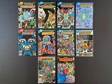 Run of (10) Crisis on Infinite Earths (1984-85) #1-12 DC Comics Store Stock