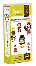 CRICUT *CHILDREN AROUND THE WORLD* CARTRIDGE *NEW* CUSTOMES, LANDMARKS, ANIMALS