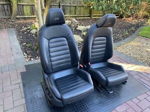 VW Scirroco R Leather Seats - Full electric adjust  & heated - Fit VW Caddy