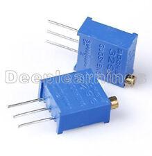 10Pcs New 3296W-103 3296 W 10K ohm Trim Pot Trimmer Potentiometer