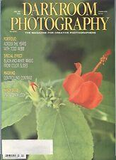 Darkroom Photography Magazine Apr 1989 Todd Webb B&W From Color Masking Romania