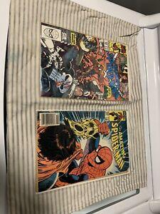 Comic Books Marvel Amazing Spider-Man Lot 15 Total, Comic Book Store Estate.