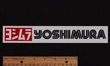 YOSHIMURA Vintage Superbike Exhaust STICKER Decal Honda Suzuki Yamaha Kawasaki