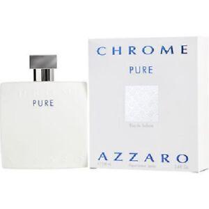 AZZARO CHROME PURE 100ML EDT SPRAY FOR MEN BY AZZARO- SALE CODE USE PATPAT